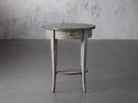 "Amalfi 20"" Round Side Table in Dolphine Grey"