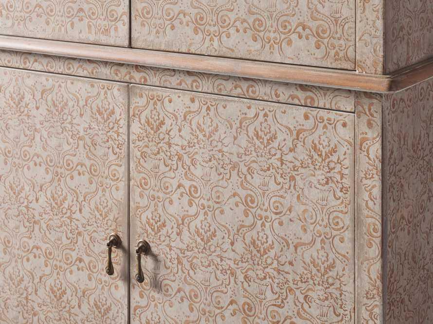 "Amalfi 44.5"" Modello Isabella 4 Door Chest in Terracotta, slide 3 of 5"