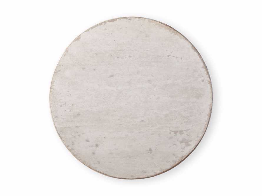 """Amalfi 20"""" Round Side Table in Terracotta, slide 5 of 5"""