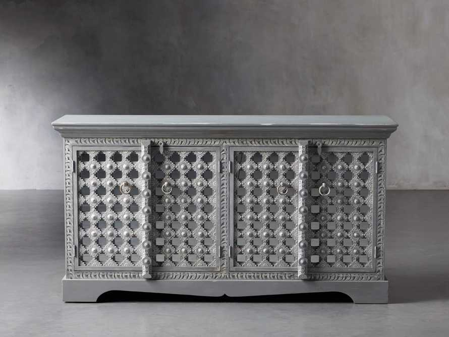 """Anika 60"""" Console in Grey, slide 1 of 7"""