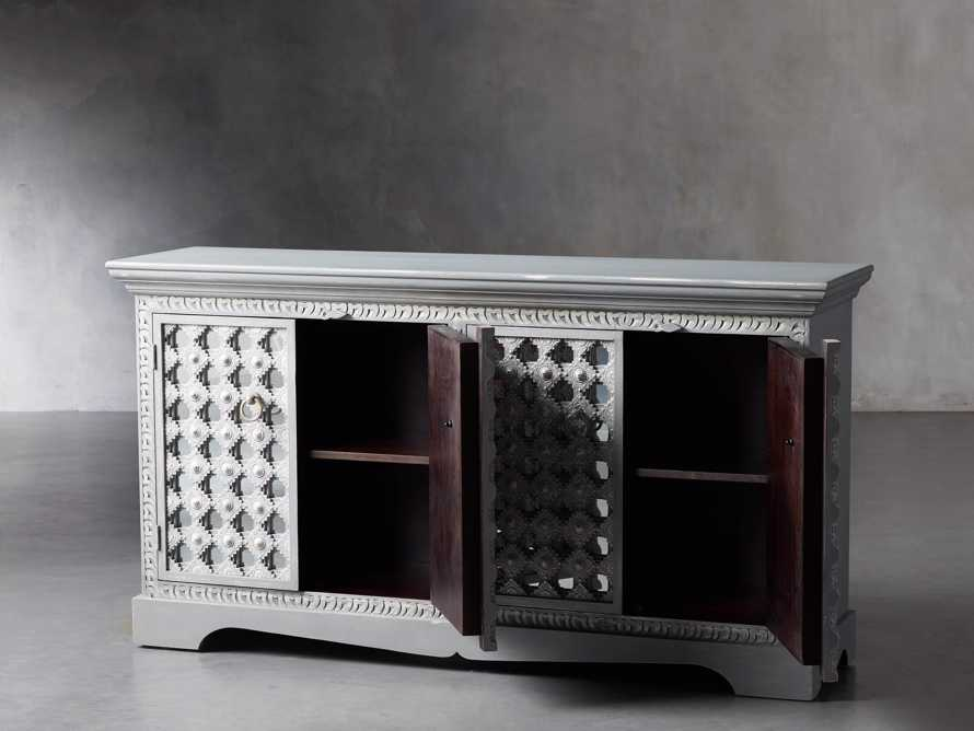 """Anika 60"""" Console in Grey, slide 3 of 7"""