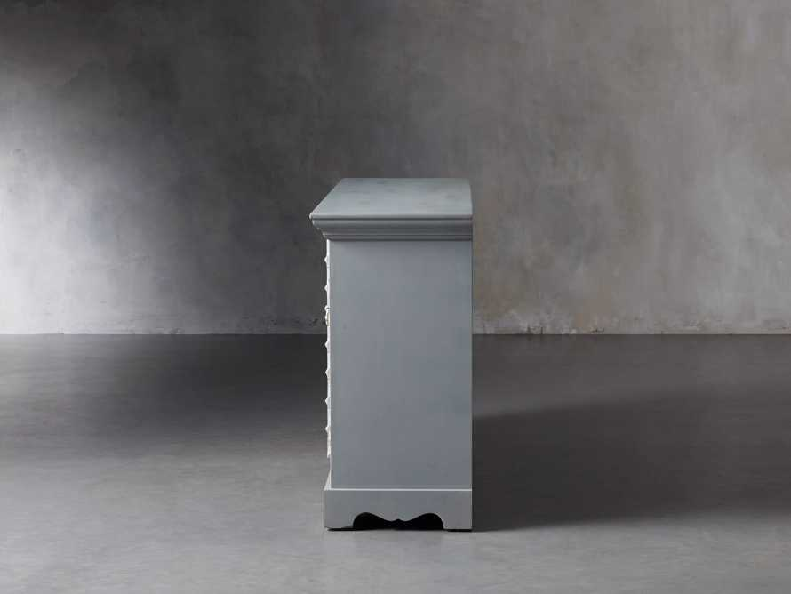 """Anika 60"""" Console in Grey, slide 4 of 7"""