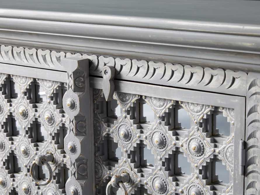 """Anika 60"""" Console in Grey, slide 6 of 7"""