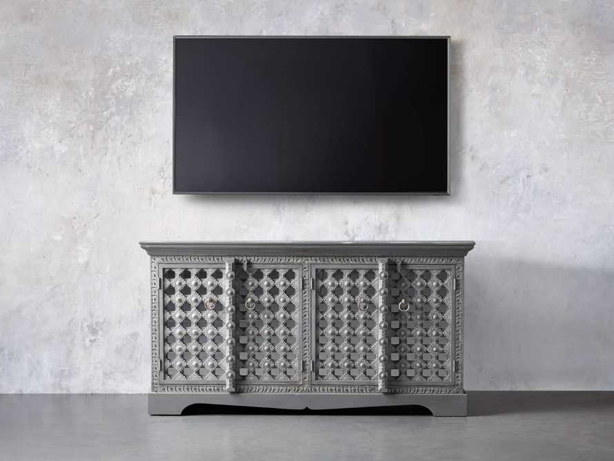 """Anika 60"""" Console in Grey, slide 5 of 7"""