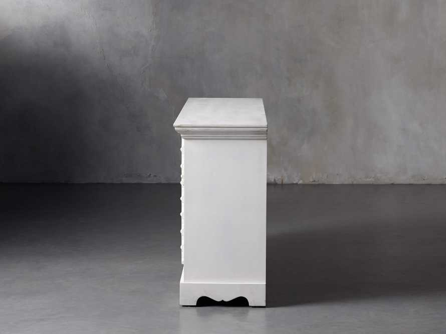 """Anika 60"""" Console Table in White, slide 4 of 10"""