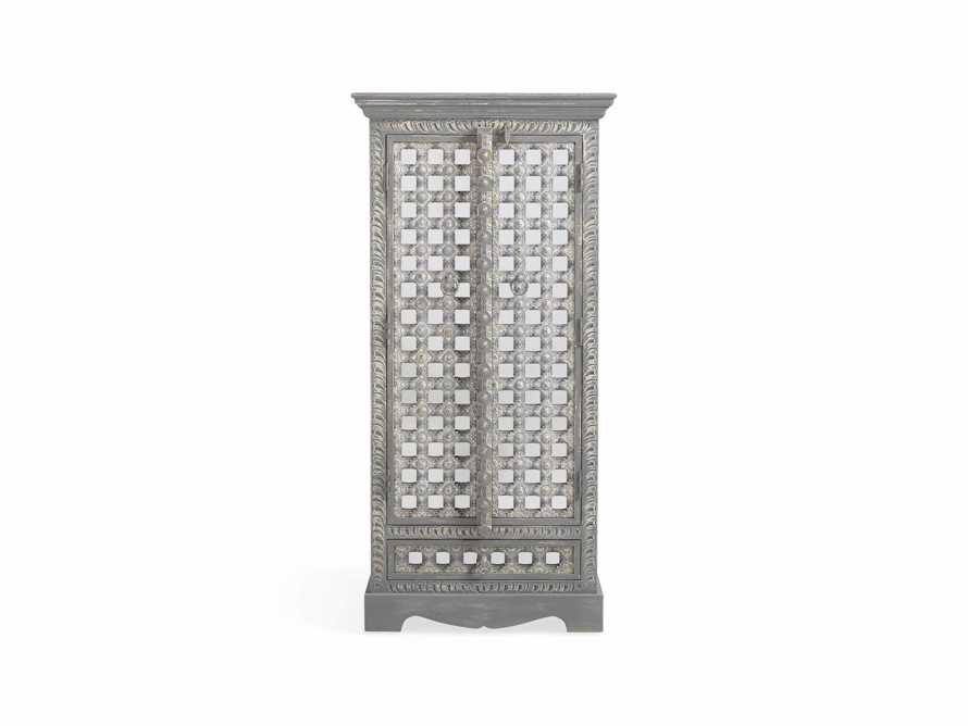 """Anika 28"""" Armoire in Grey, slide 1 of 6"""