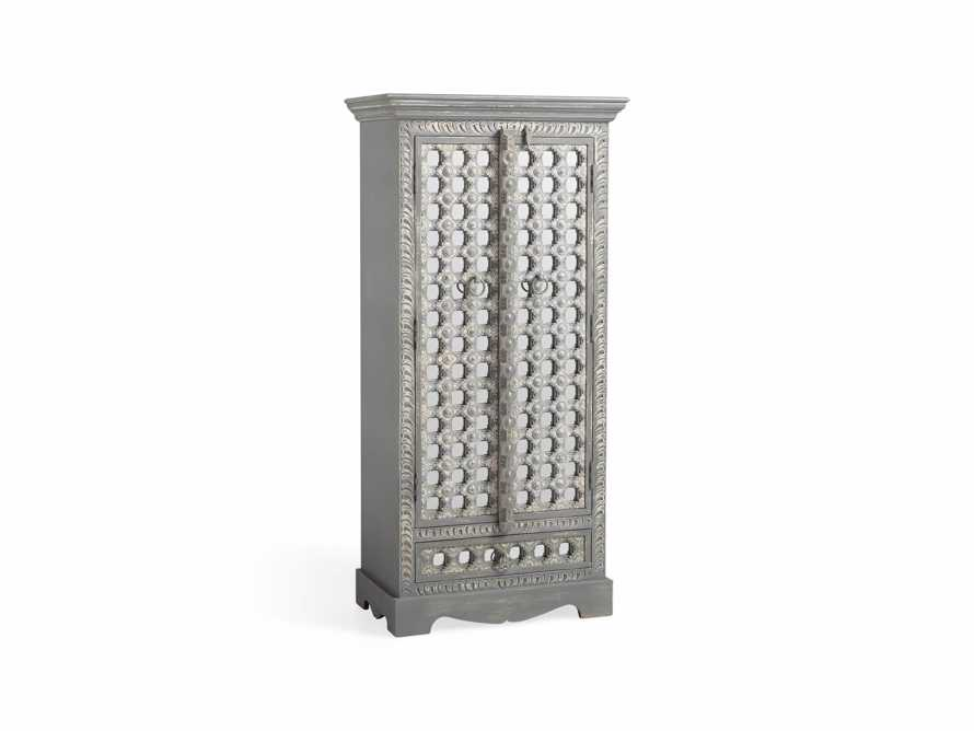 """Anika 28"""" Armoire in Grey, slide 2 of 6"""