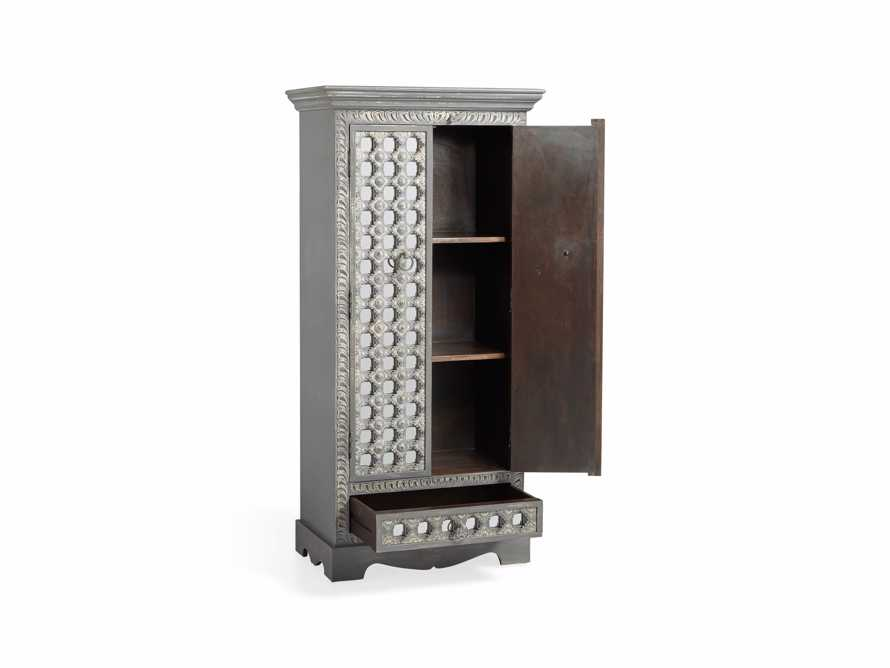 """Anika 28"""" Armoire in Grey, slide 3 of 6"""