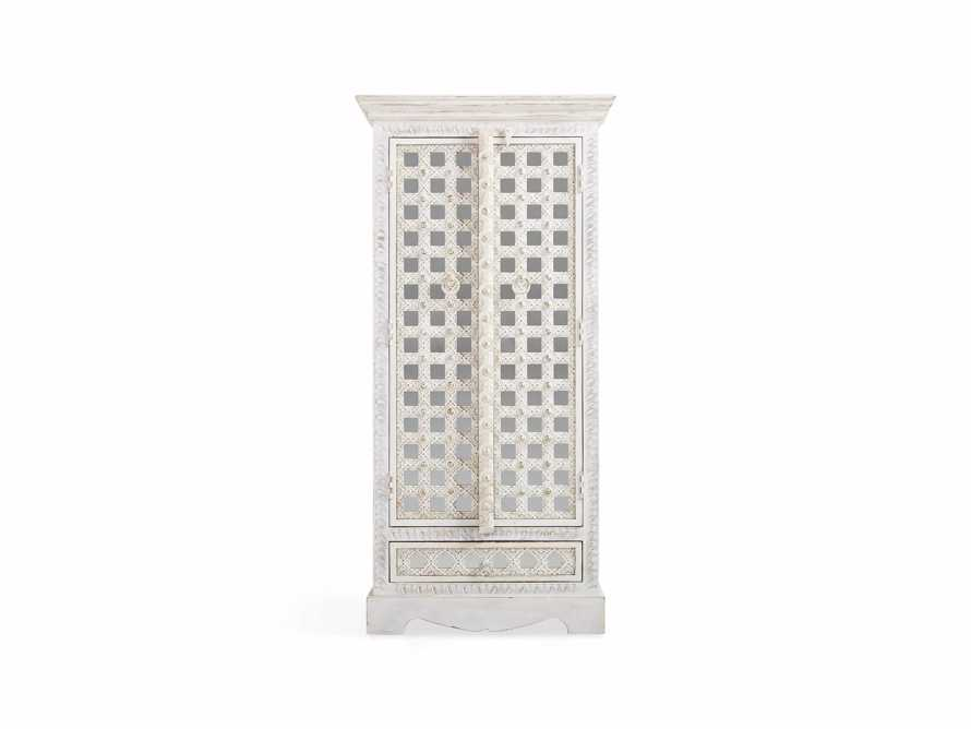 "Anika 28"" Armoire in White, slide 2 of 6"