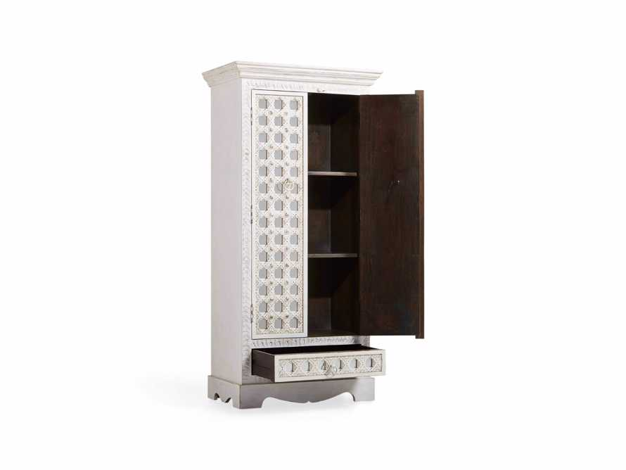 "Anika 28"" Armoire in White, slide 4 of 6"