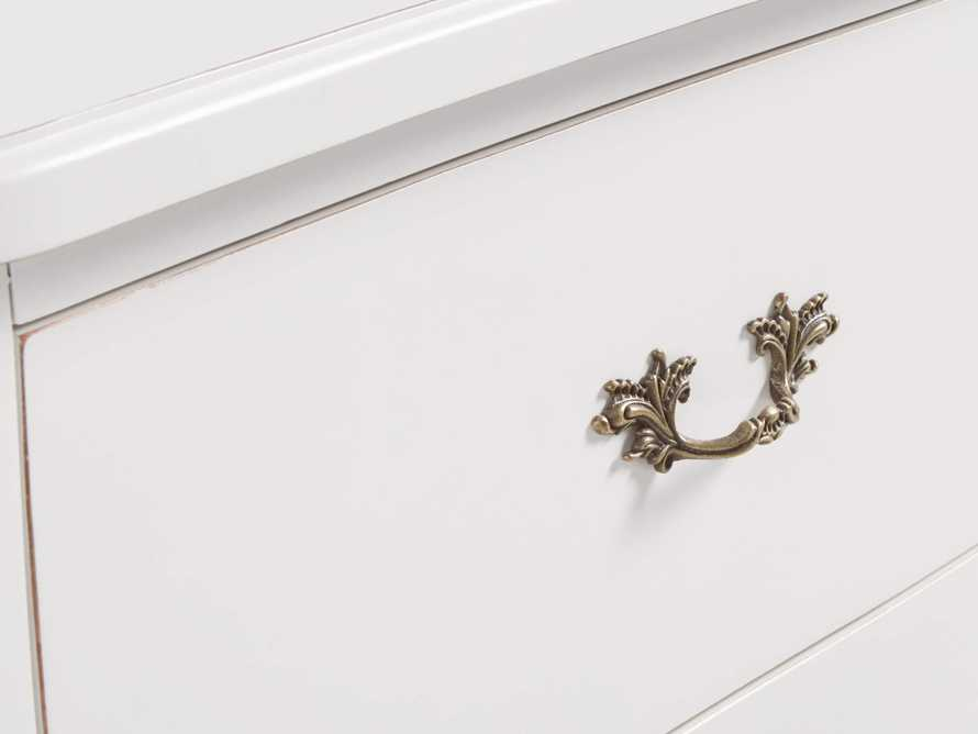 Bombay Large 2 Drawer Chest in White