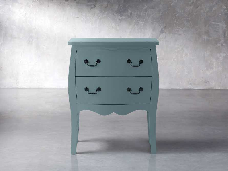 Bombay Small 2 Drawer Chest in Bay Green, slide 1 of 5