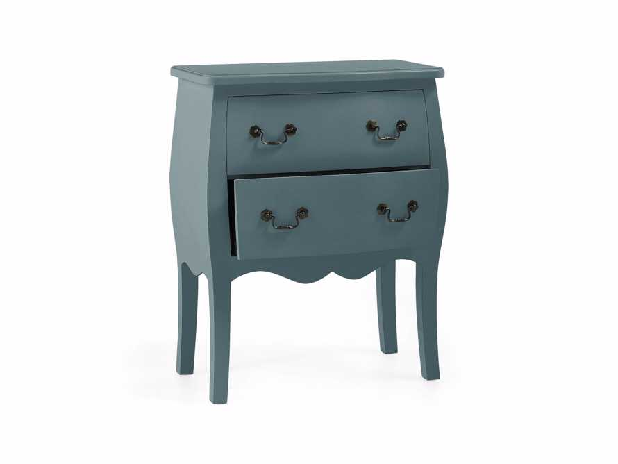 Bombay Small 2 Drawer Chest in Bay Green, slide 4 of 5