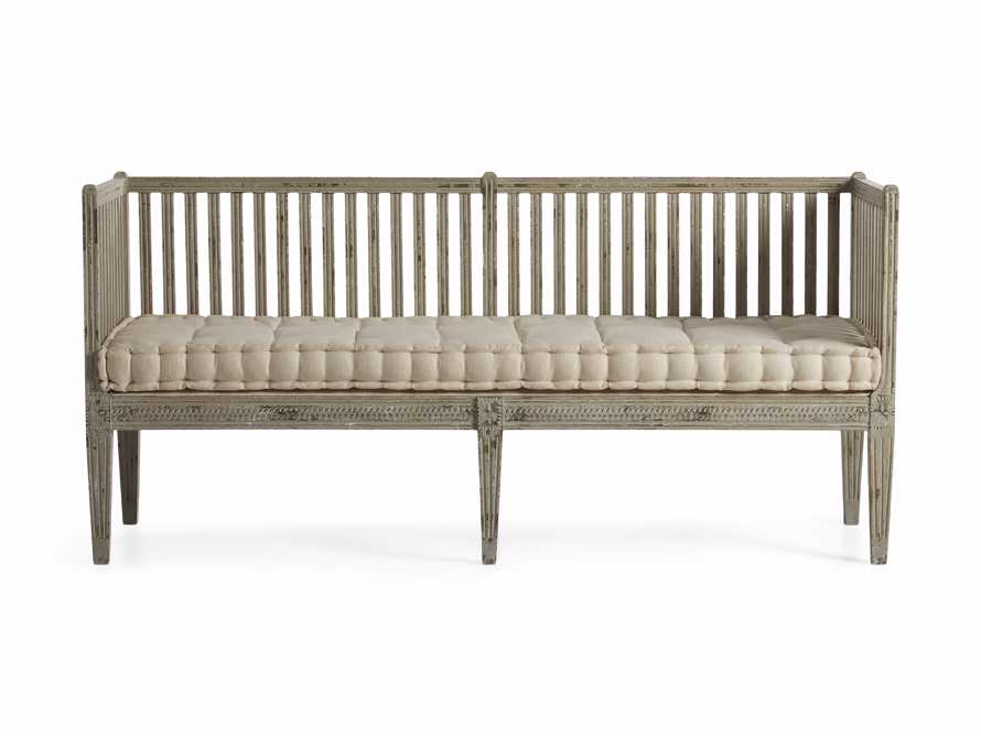 "Johannson 75"" Bench, slide 2 of 3"