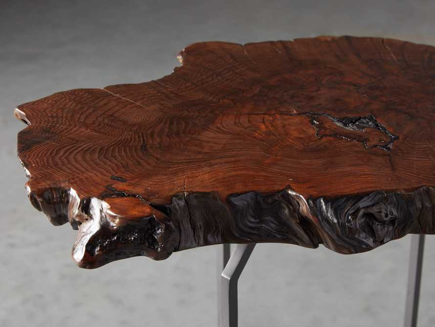 Redwood Live Edge End Table, slide 4 of 7