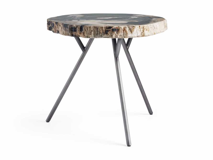 "Mangata Petrified Wood Single Table with 18"" Base, slide 2 of 8"