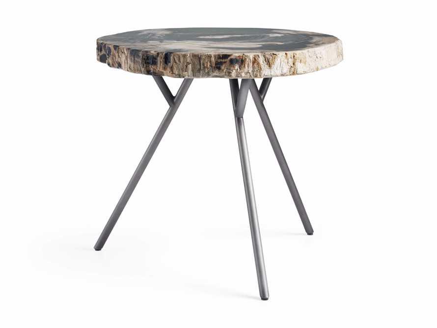 "Mangata Petrified Wood Single Table with 18"" Base, slide 2 of 9"