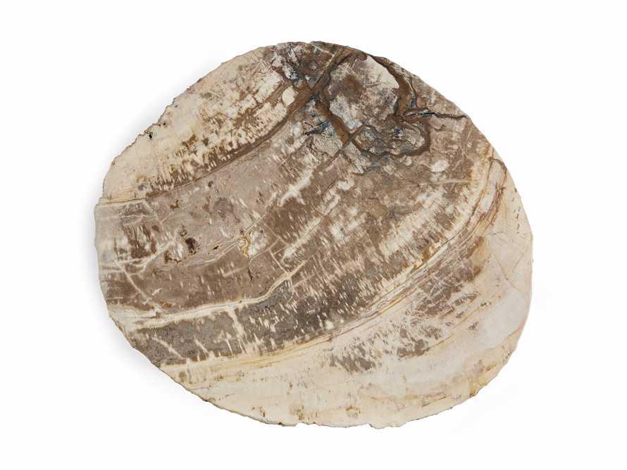 "Mangata Petrified Wood Single Table with 18"" Base, slide 3 of 9"