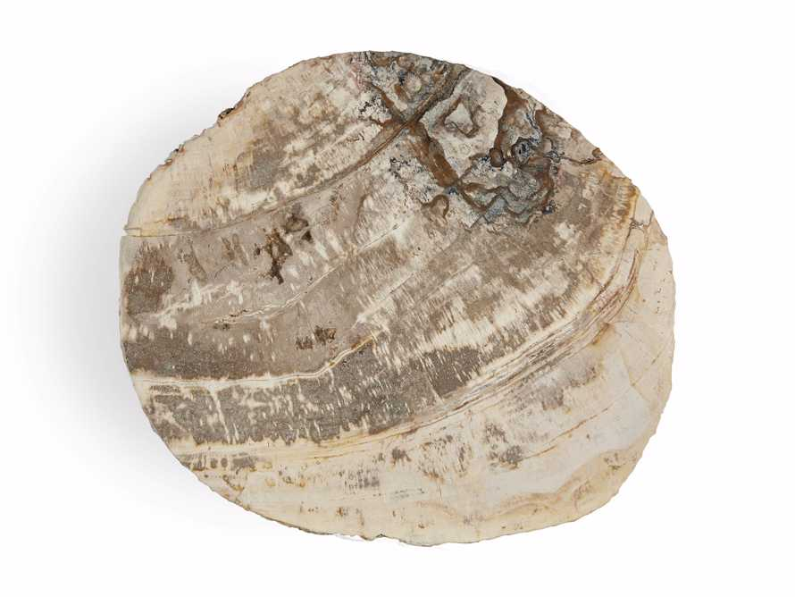 "Mangata Petrified Wood Single Table with 18"" Base, slide 5 of 8"