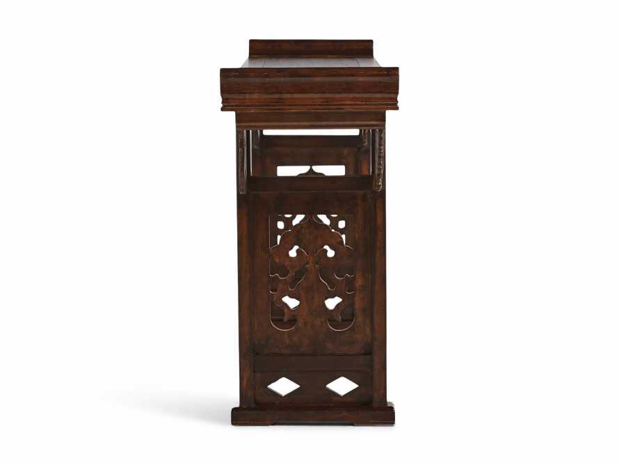 """Ming 86"""" Altar Table in Blackened Honey, slide 9 of 9"""