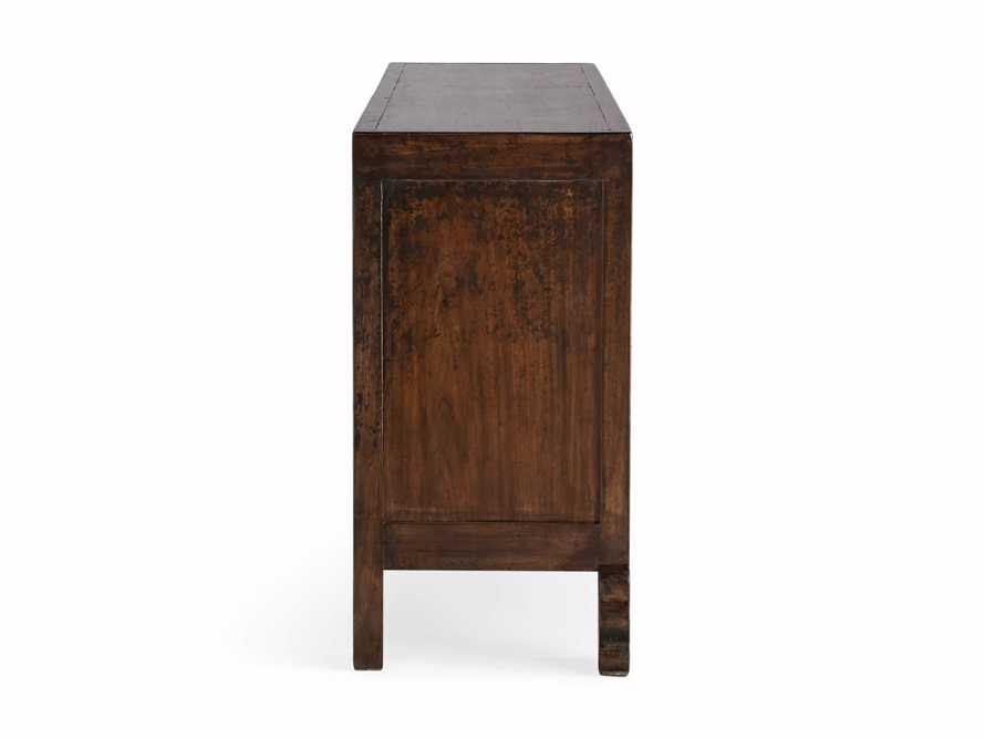 "Ming 83"" Cabriole Leg Cabinet"