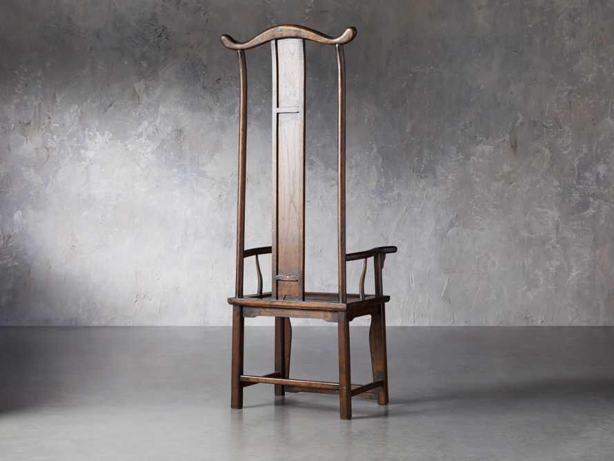 Ming Chair in Blackened Honey