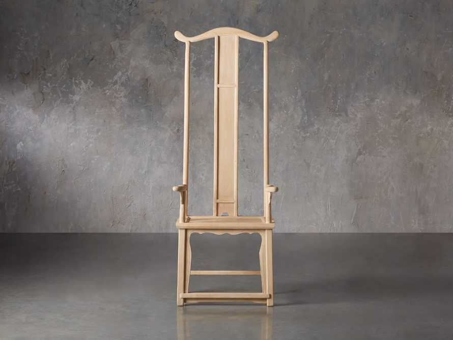 Ming Chair in Natural Pine, slide 2 of 10