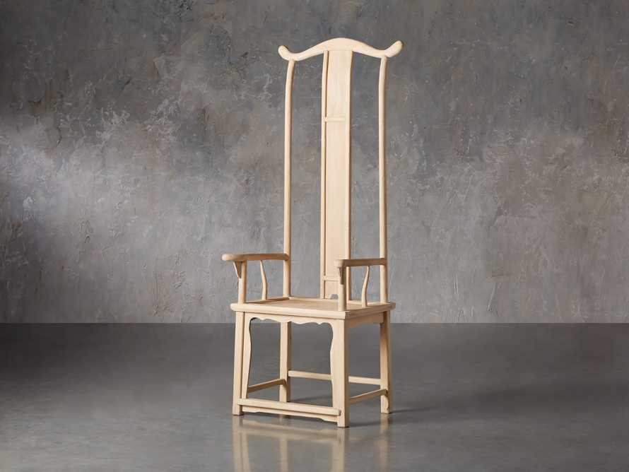 Ming Chair in Natural Pine, slide 3 of 10