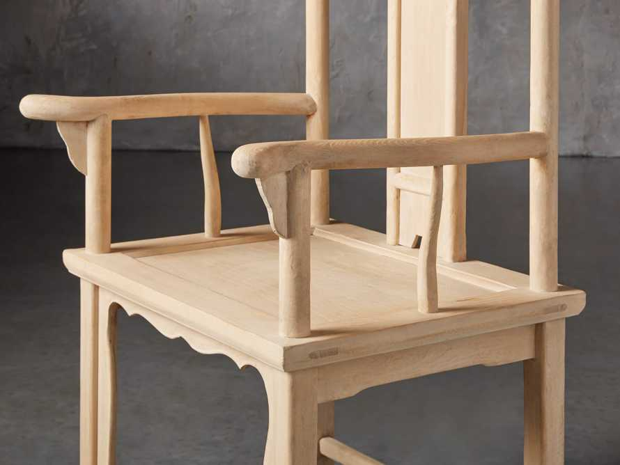 Ming Chair in Natural Pine, slide 6 of 10