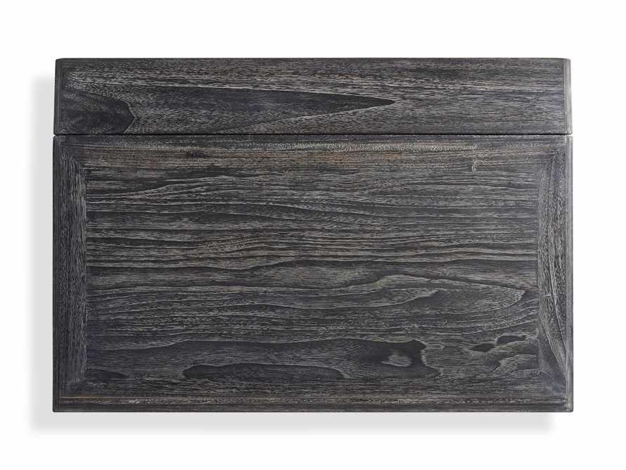 "Merle 35"" Writing Desk in Baroque Black, slide 6 of 8"