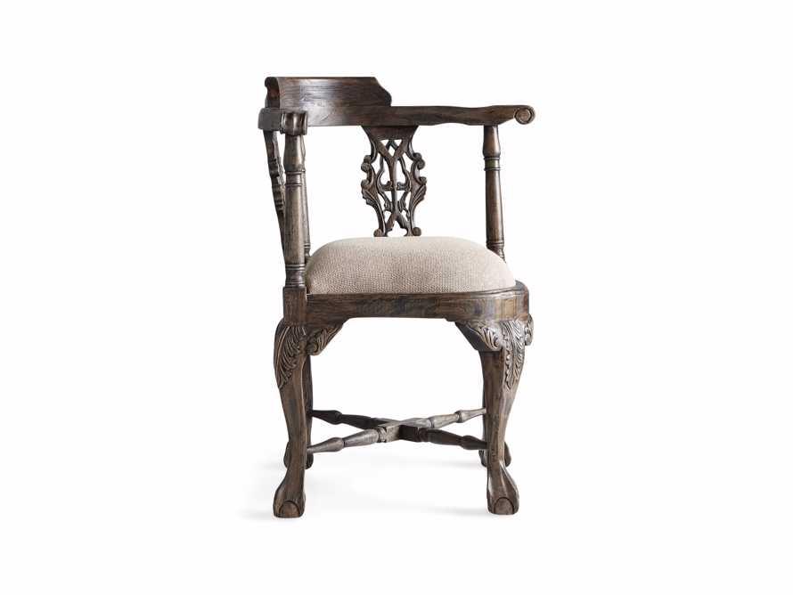 Merle Corner Chair in Brown, slide 9 of 9