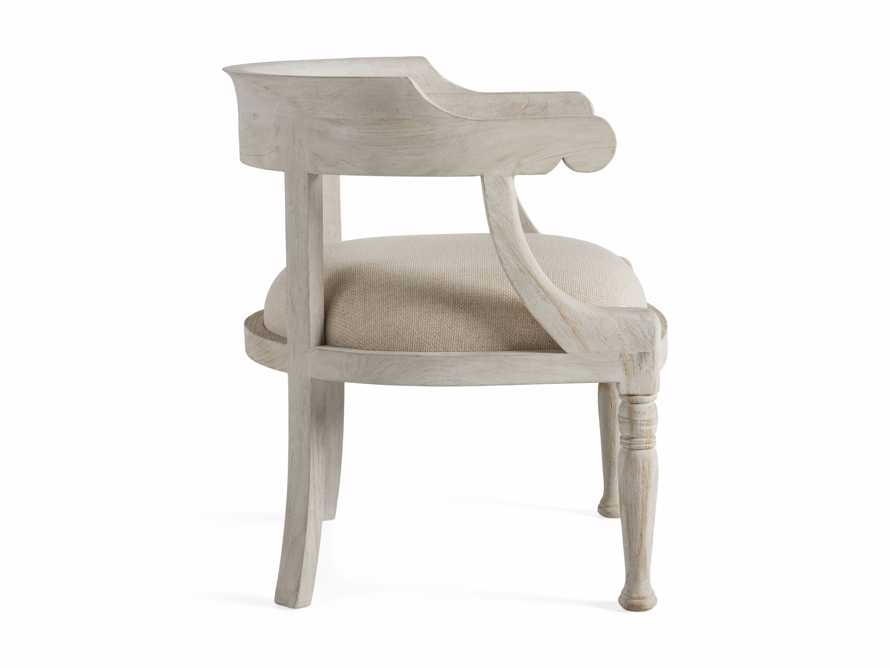"""Merle 26"""" Accent Chair in Flax, slide 8 of 8"""