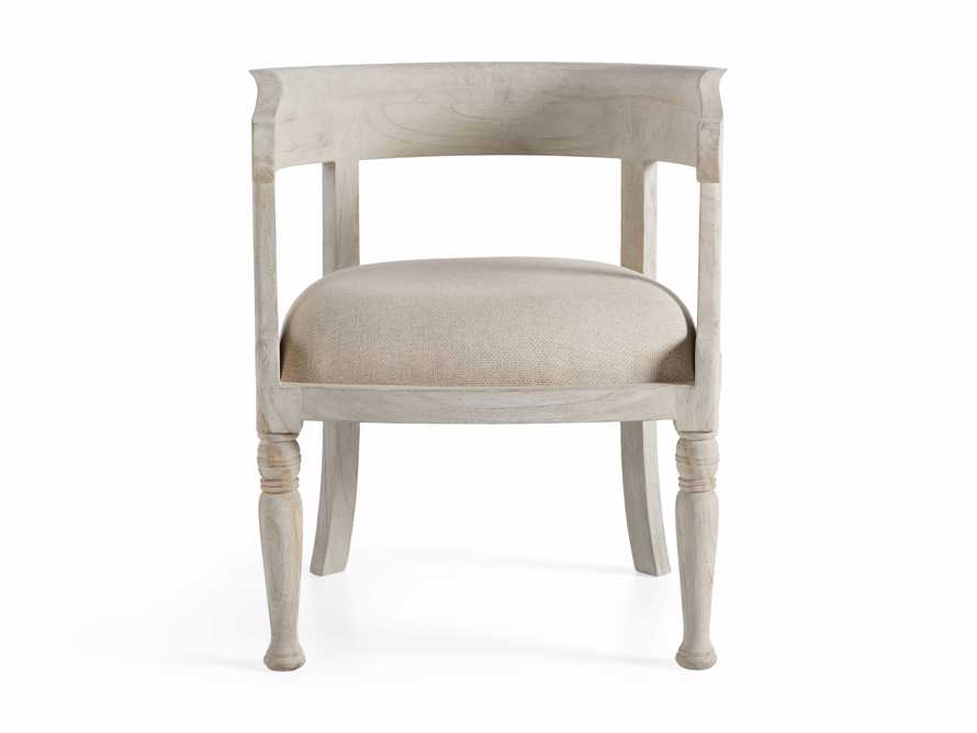 """Merle 26"""" Accent Chair in Flax, slide 7 of 8"""