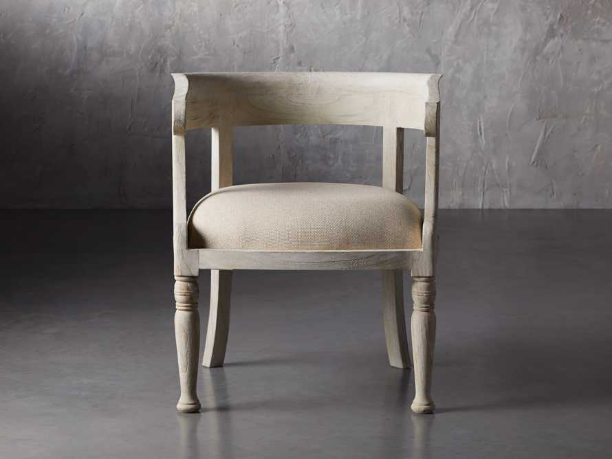 """Merle 26"""" Accent Chair in Flax, slide 1 of 8"""