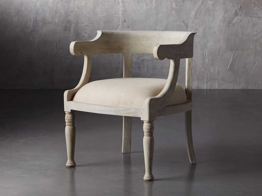 """Merle 26"""" Accent Chair in Flax, slide 2 of 8"""