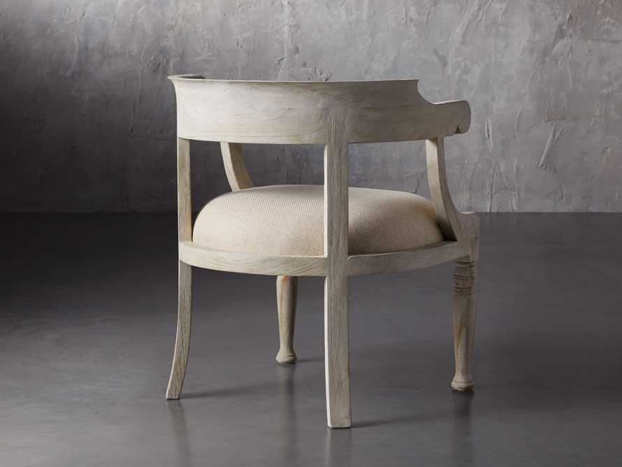 """Merle 26"""" Accent Chair in Flax, slide 4 of 8"""