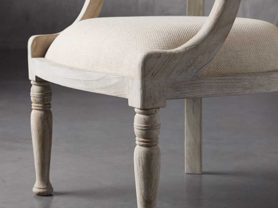 """Merle 26"""" Accent Chair in Flax, slide 5 of 8"""