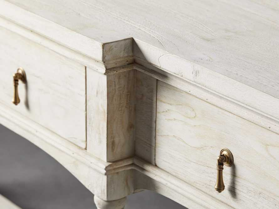 """Merle 72"""" Console Table in Flax"""