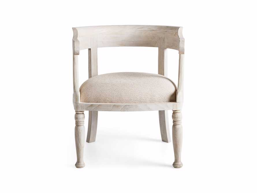 "Merle 26"" Accent Chair in Acanthus Natural"