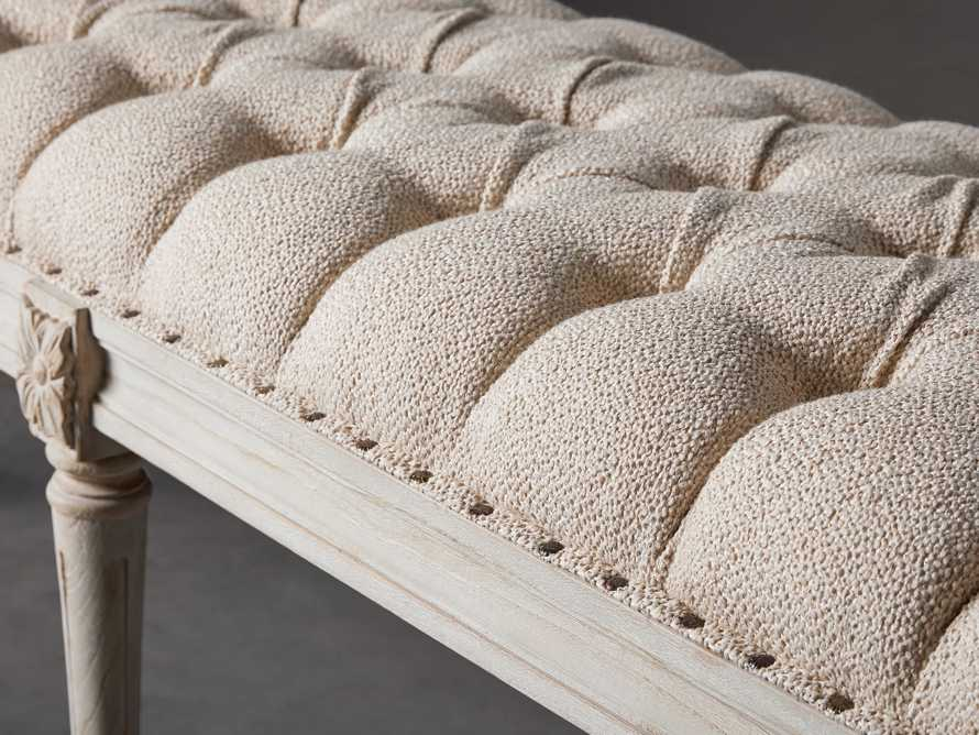 Merle Bench in Natural