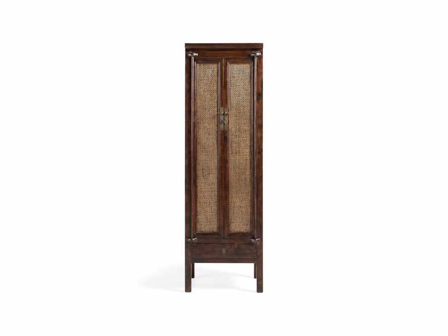 "Rattan 24"" Cabinet in Brown, slide 1 of 7"