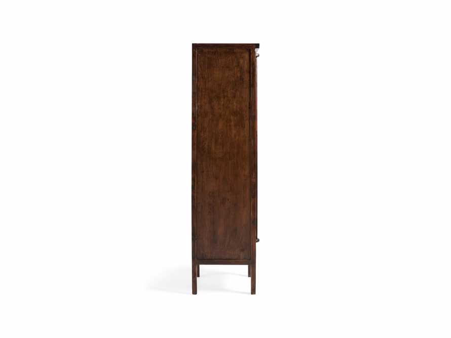 "Rattan 24"" Cabinet in Brown, slide 4 of 7"