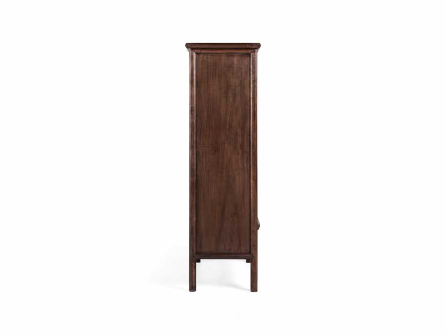 """Rattan 41"""" Cabinet in Brown"""