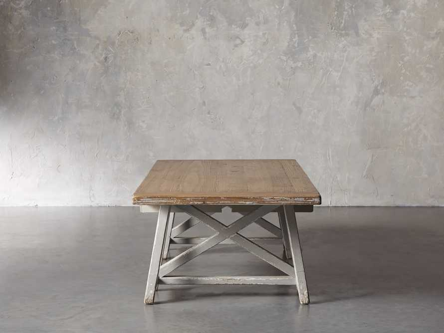 "Remy 62"" Sawhorse Coffee Table, slide 4 of 12"