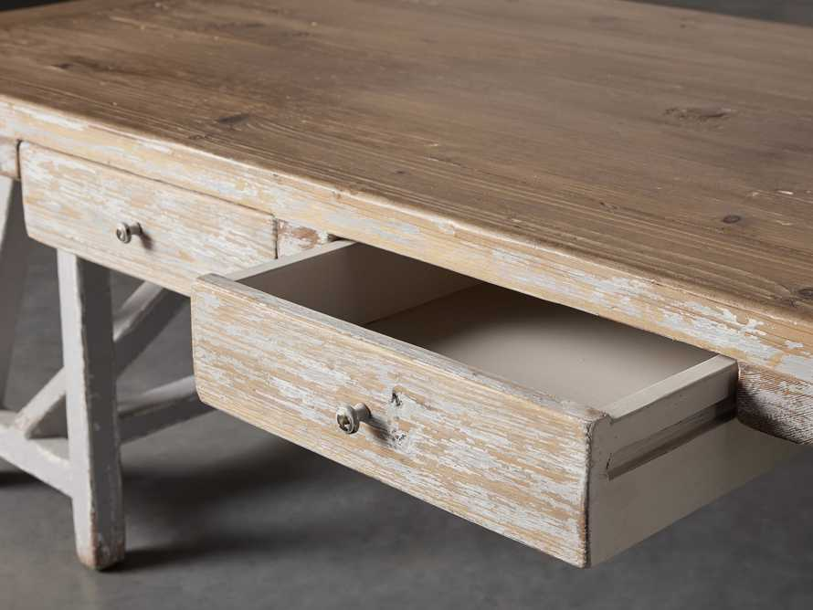 "Remy 62"" Sawhorse Coffee Table, slide 7 of 12"