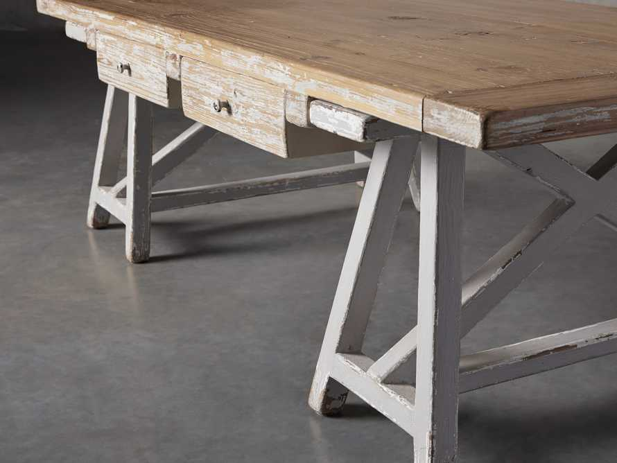 "Remy 62"" Sawhorse Coffee Table, slide 8 of 12"