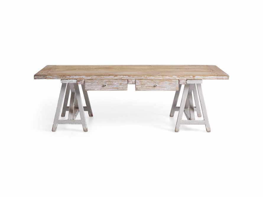 "Remy 62"" Sawhorse Coffee Table, slide 10 of 12"