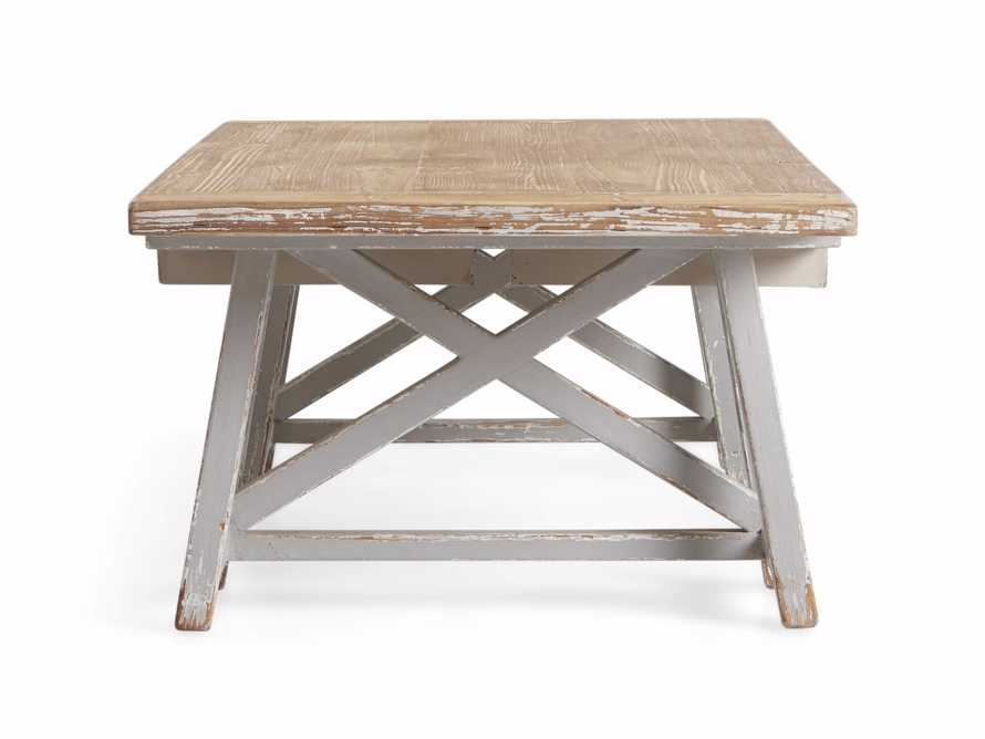 "Remy 62"" Sawhorse Coffee Table, slide 11 of 12"