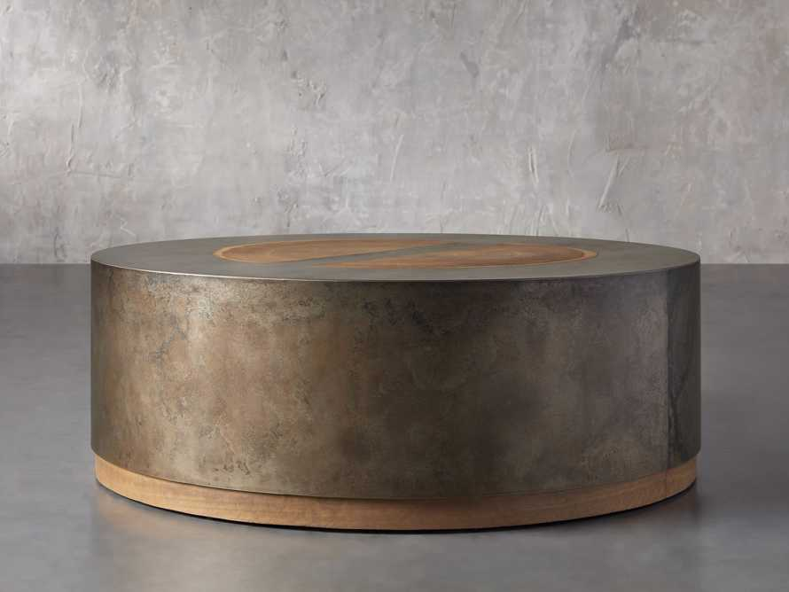 """Acacius 42"""" Round Coffee Table, slide 2 of 5"""
