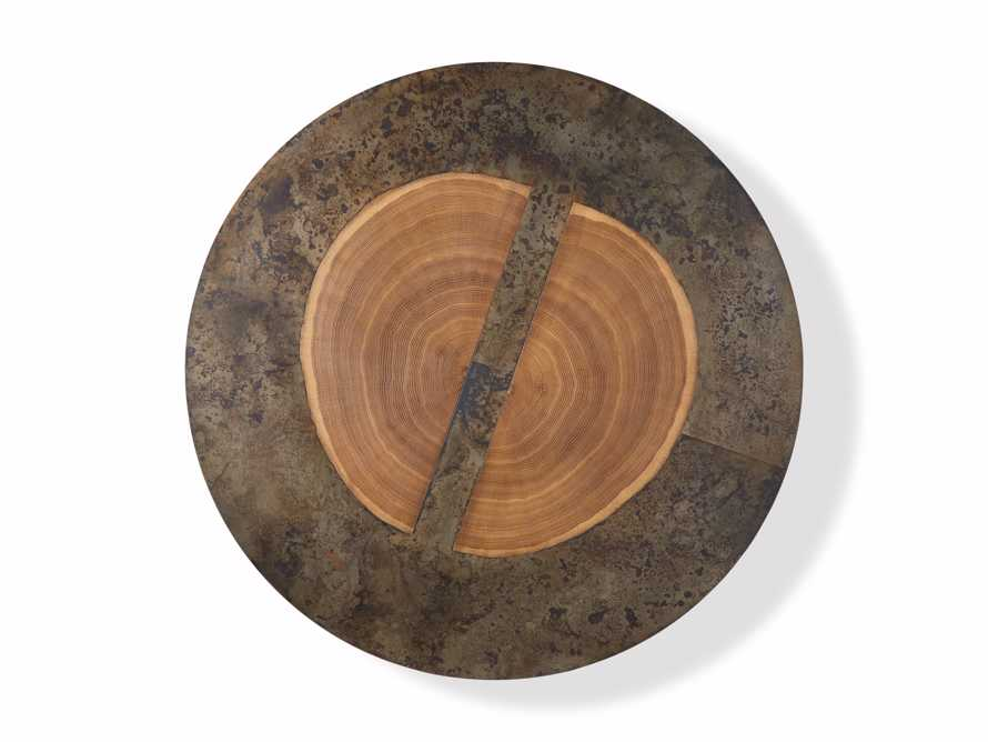 """Acacius 42"""" Round Coffee Table, slide 5 of 5"""